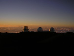 Keck Observatory Mauna Kea Observatory, Hawaii Island, Hawaii