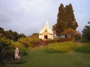Chapel on Island of Hawaii, Hawaii