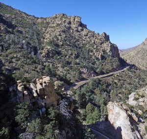 Mt. Lemmon, AZ Bear Canyon from drone.