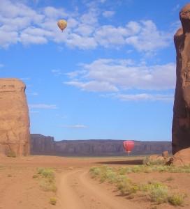 Ballons, Navaho Nation Park, Arizona