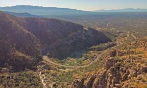 Mt. Lemmon, Arizona by drone