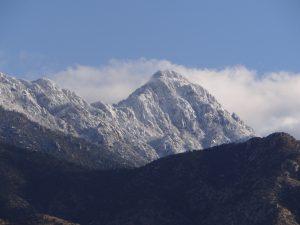 Snow Capped Santa Rita Mountains, Arizona