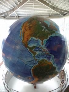 Globe in Maine