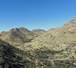 Molina Basin, Mt. Lemmon Highway, Arizona
