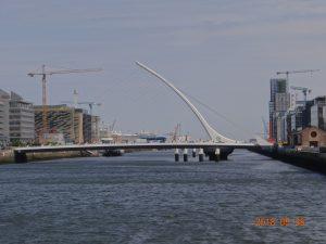 Samuel Beckett Bridge, Dublin Ireland. Click on picture to see it's full beauty.